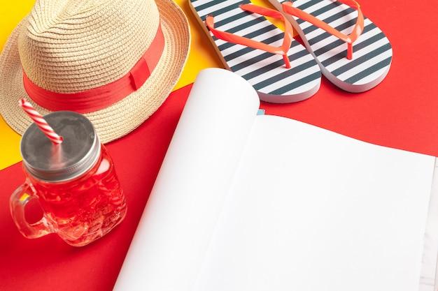 Dagboek zomerstrand schrijven