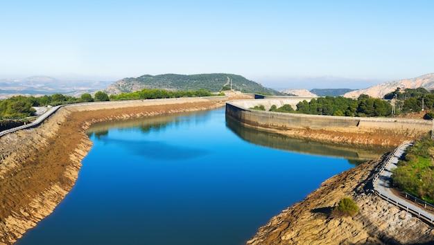 Dagoverzicht guadalhorce-guadalteba reservoirs