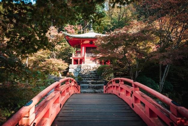 Daigoji-tempel in kyoto, japan