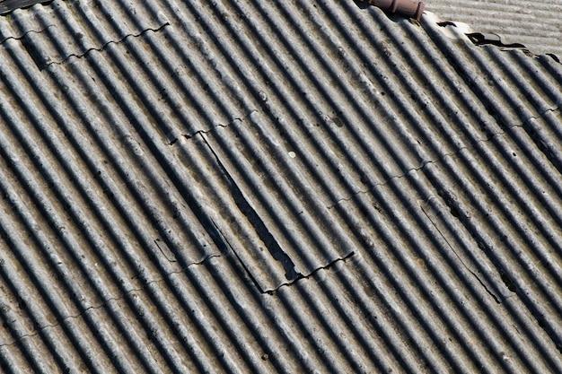Dak gemaakt met keramiek, dakzicht