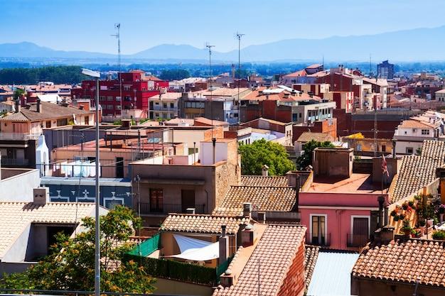 Daken van catalaanse stad - figueres