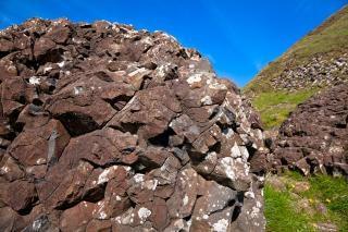 Dam boulder hdr outdoor