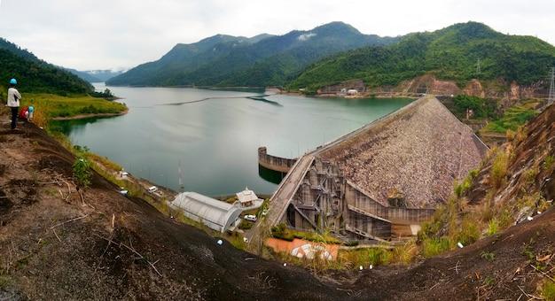 Dam in laos