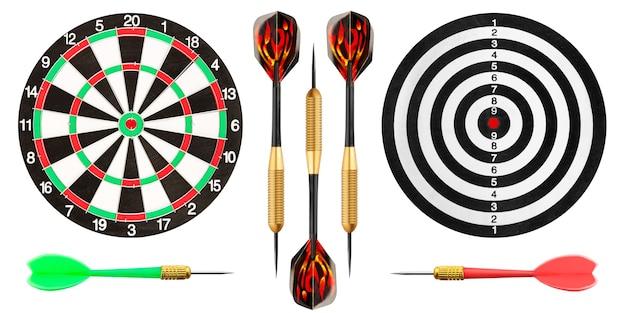 Dartbord en darten