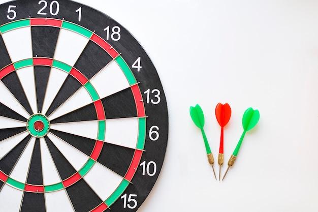 Dartbord en darts