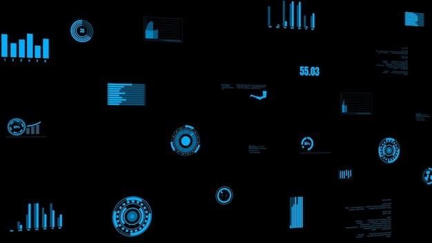Dashboard met visionaire branchegegevens met de machinestatus