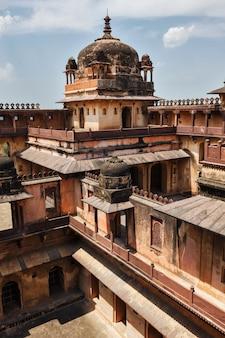 Datia-paleis in madhya pradesh, india