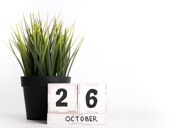 Datum 26 oktober