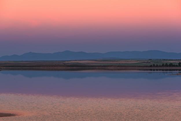 Dawn op de lagune