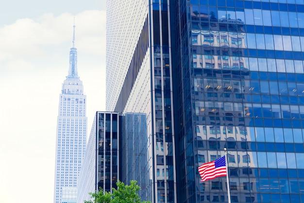 De 8de av new york stad de vs van manhattan