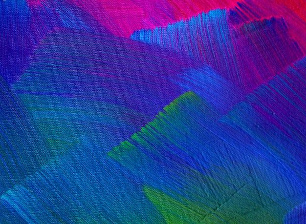 De abstracte achtergrond van de olieverfschilderijborstelslag.