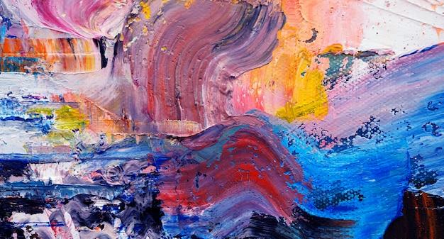 De abstracte achtergrond van de olieverftextuur