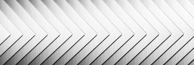 De abstracte achtergrond van het metaalpatroon. 3d-afbeelding.
