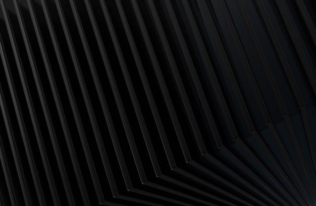 De abstracte achtergrond van het metaalpatroon. 3d illustratie.