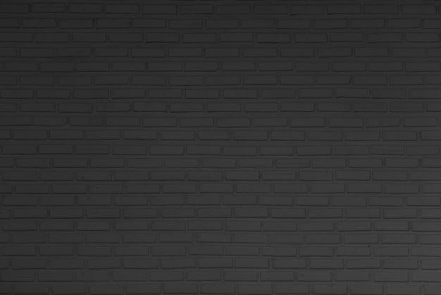 De abstracte donkere grijze zwarte achtergrond van de bakstenen muurtextuur