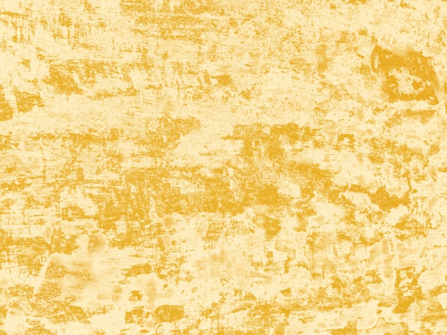 De abstracte gele en witte achtergrond van de kleuren concrete textuur