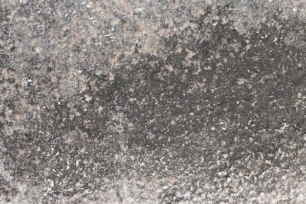 De abstracte oude vuile donkere achtergrond van de cementmuur op grondtextuur.