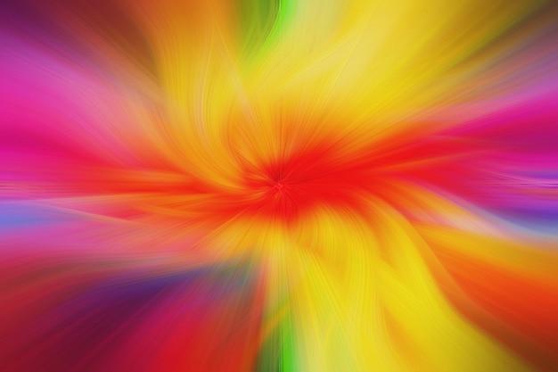 De abstracte vorm van de achtergrond kleurrijke haardraai en geweven oppervlakte.