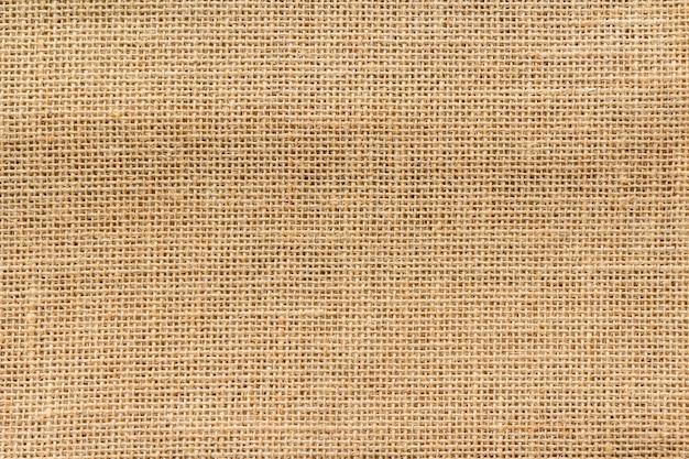 De achtergrond en de textuur van de jutezak