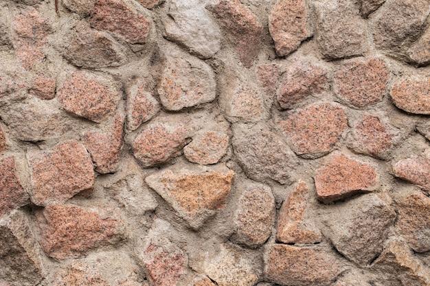 De achtergrond van de de muurtextuur van de steenvoorgevel