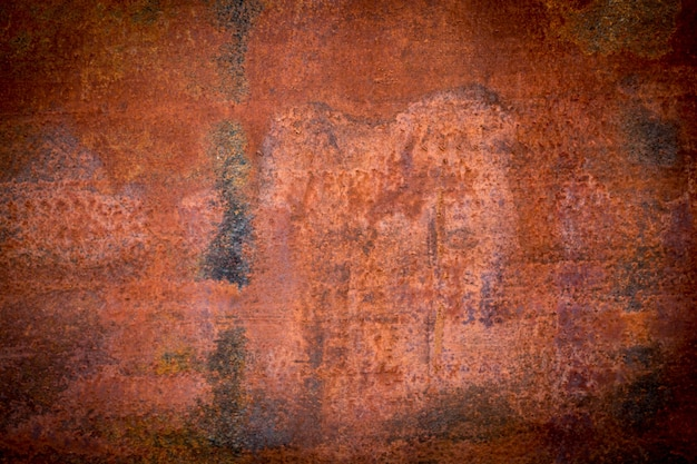 De achtergrond van de metaalroest, de achtergrondstructuur van de grungeroest.