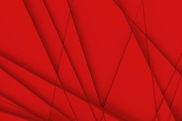 De achtergrond van het oppervlak wordt berekend door rechte lijnen op verschillende geometrische vormen op verschillende hoogtes en schaduwen op elkaar te werpen. 3d illustratie