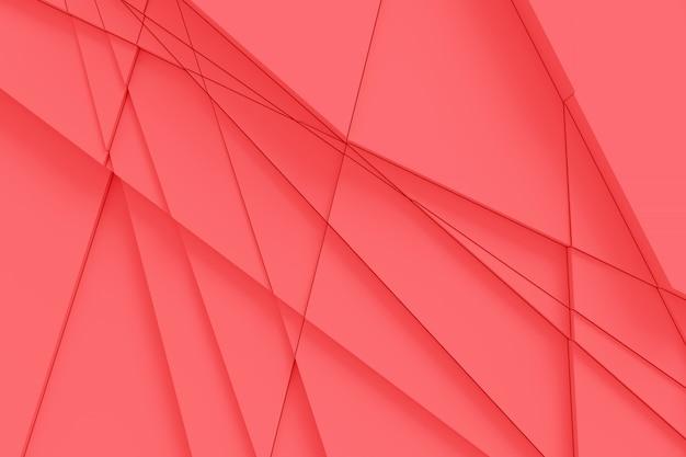 De achtergrond van het oppervlak wordt berekend door rechte lijnen op verschillende geometrische vormen