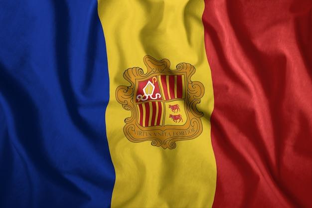 De andorrese vlag
