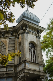 De architectuur van oud tbilisi