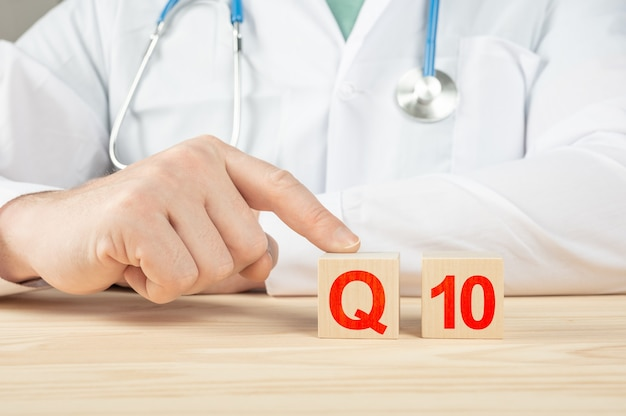 De arts raadt aan om vitamine q10 te nemen