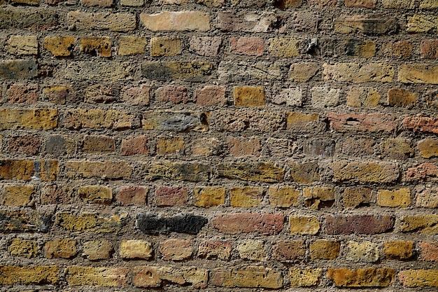 De bakstenen muurtextuur van londen brickwall