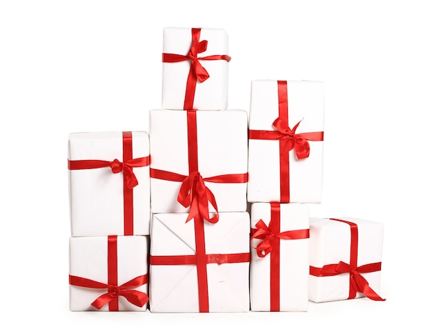 De berg met geschenken