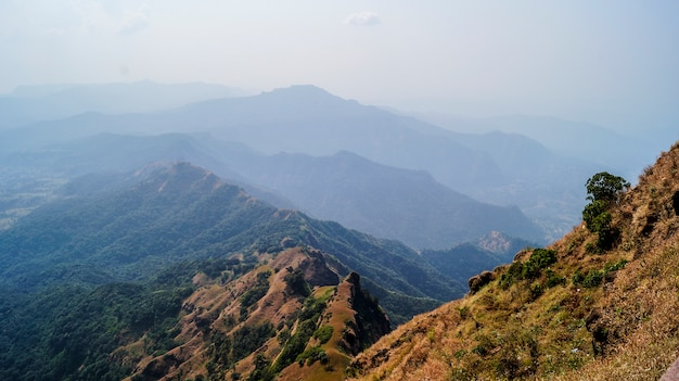 De bergen van sahadri