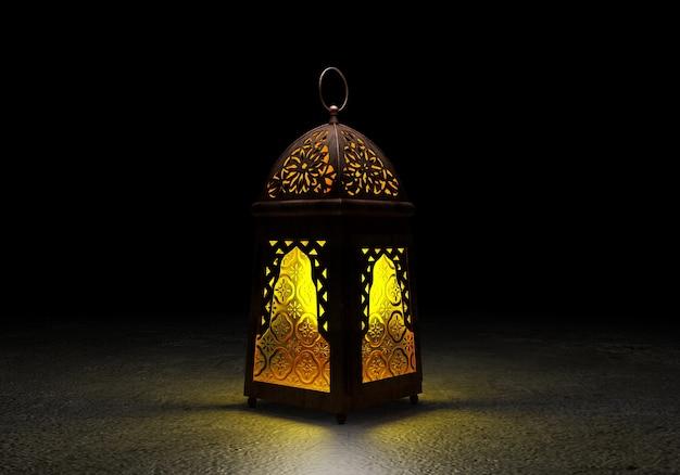 De beroemde ramadan-lantaarn.
