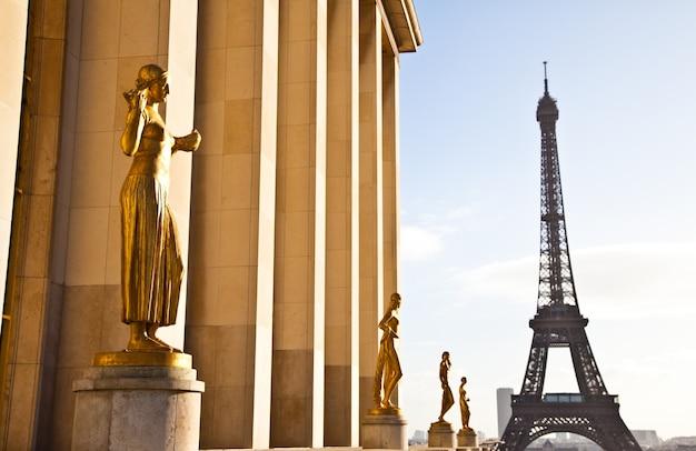 De beste plek in parijs om een prachtig uitzicht op de eiffeltoren te hebben: trocadero terrace