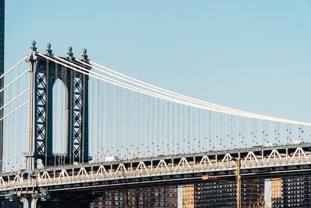 De brug van manhattan in new york