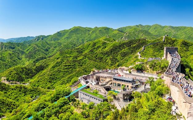 De chinese muur in badaling