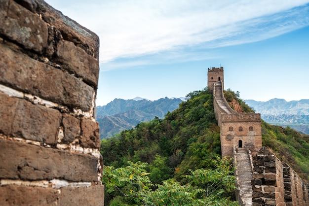 De chinese muur.