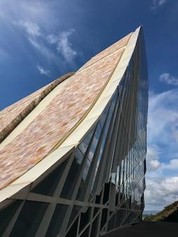De cultuurstad van galicië is een architectonisch complex in santiago de compostela