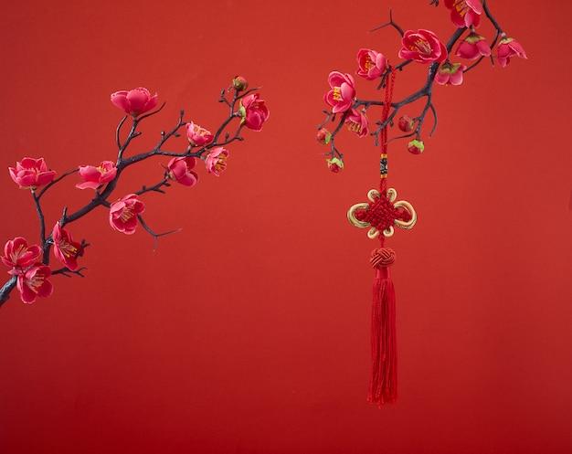 De decoratie van het chinese nieuwjaar voor het lentefestival
