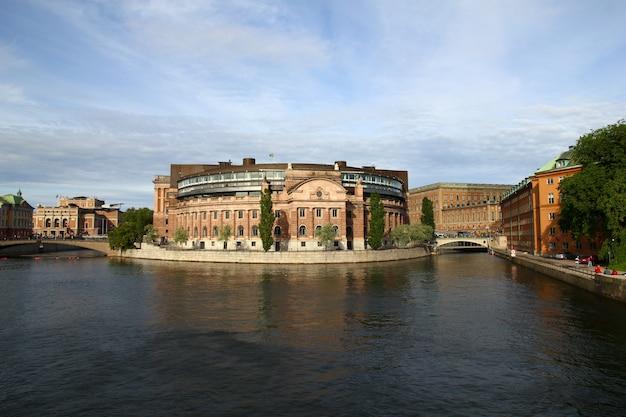 De dijk in stockholm, zweden