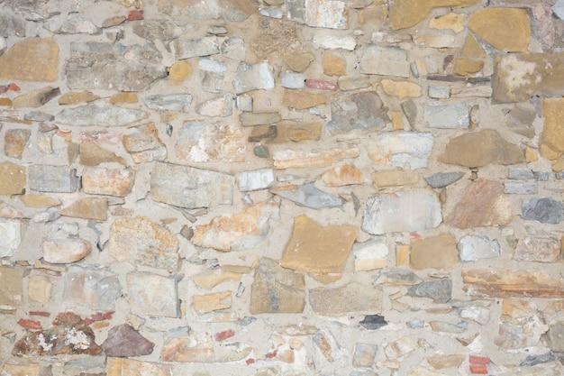 De duidelijke herstelde achtergrond van de rots grunge muur