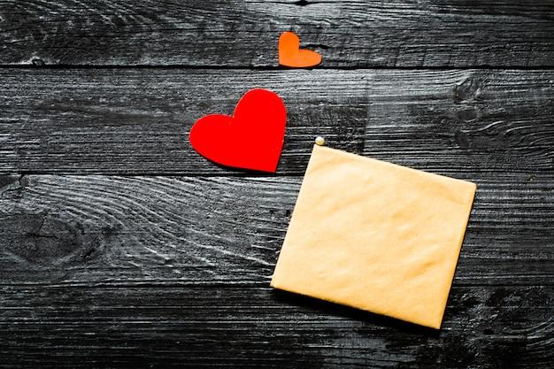 De envelop op valentijn