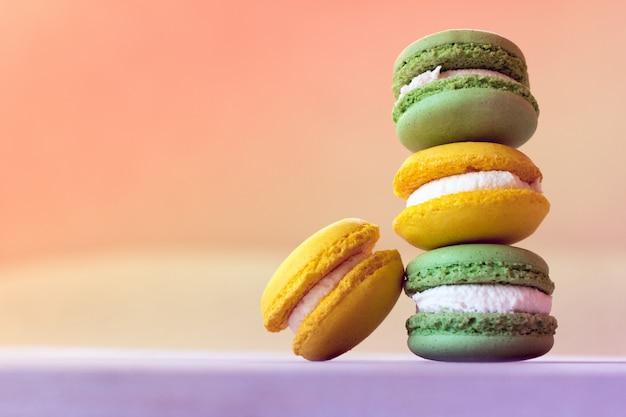 De franse traditie - kleurrijke makarons