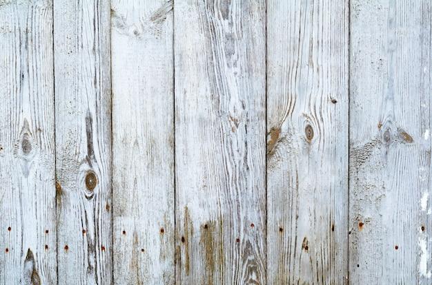 De gebarsten doorstane grijze sjofele elegante geschilderde houten achtergrond van de raadstextuur