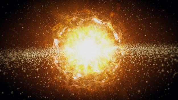 De geboorte van het zonnestelsel in de ruimte