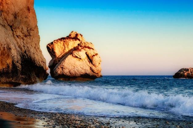 De geboorteplaats van aphrodite op cyprus