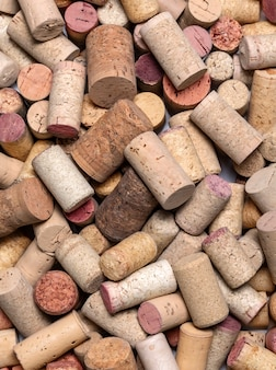 De gebruikte wijn kurkt dicht omhoog
