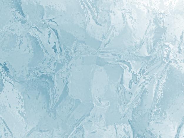 De geïllustreerde bevroren achtergrond van de ijstextuur