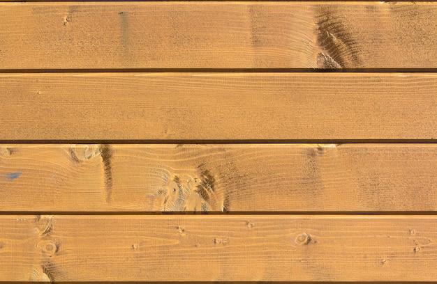 De gele houten textuur van de plankmuur voor gebruik als achtergrond